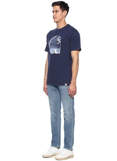 Carhartt Tişört Mavi